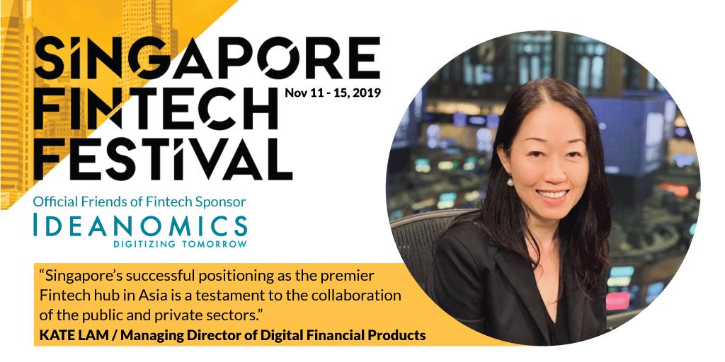 Kate Lam, Singapore Fintech Festival