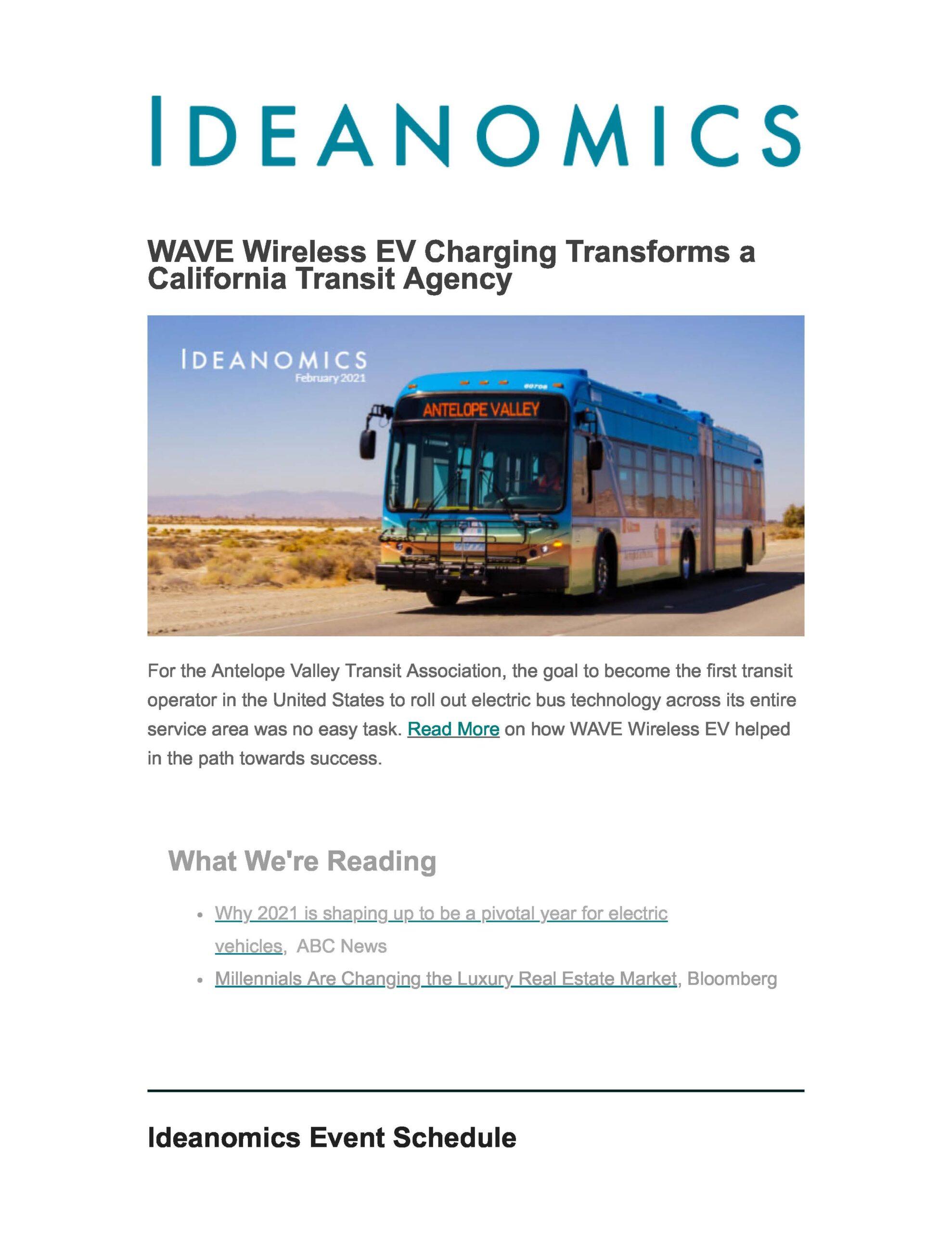 Ideanomics February Newsletter 202